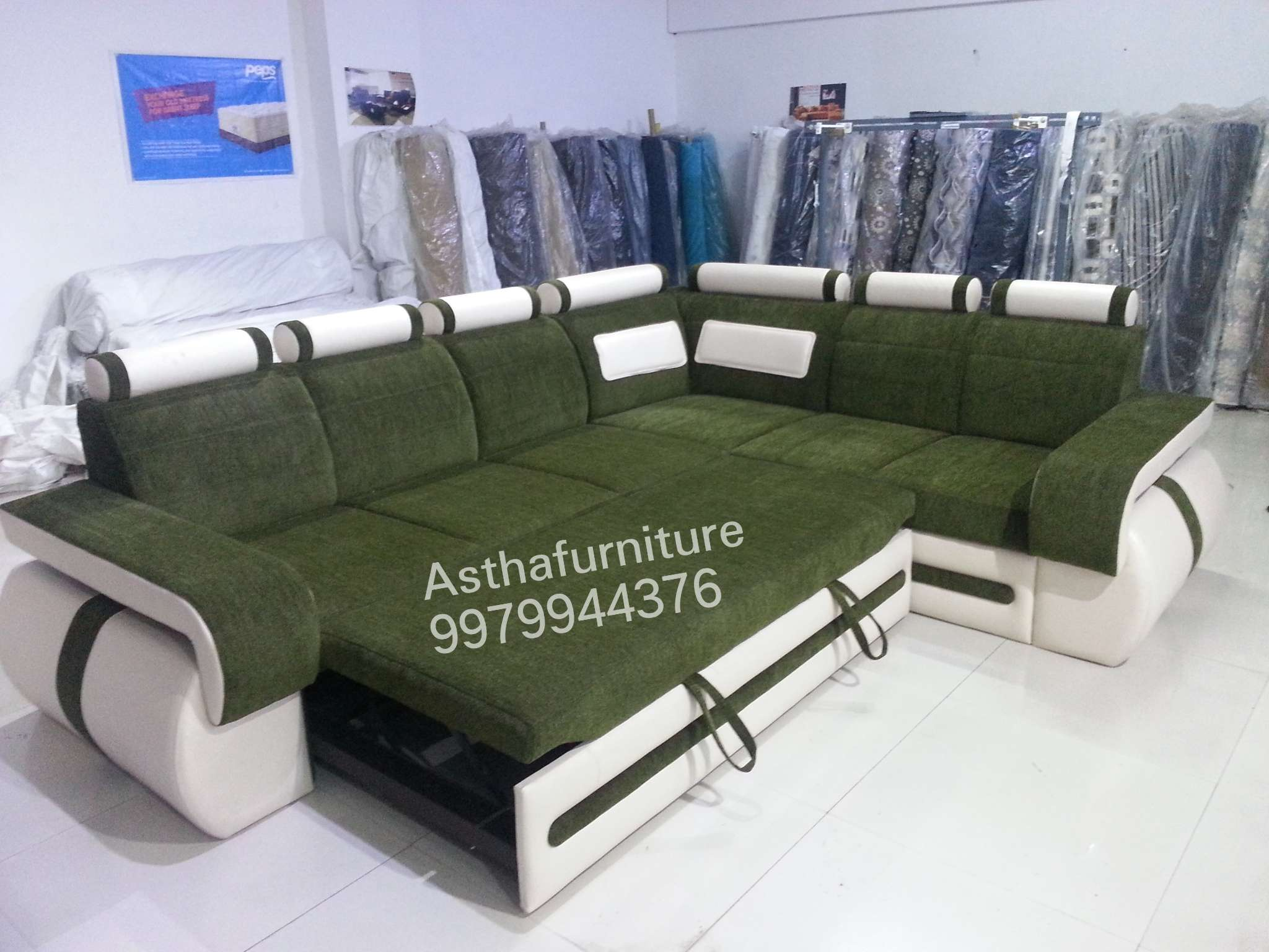 SOFA L SHAPE CUMBED FACTORY PRICE – Astha Furniture